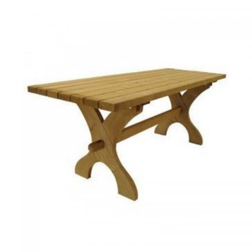 Nowy Targ Garden Table - Rectangular