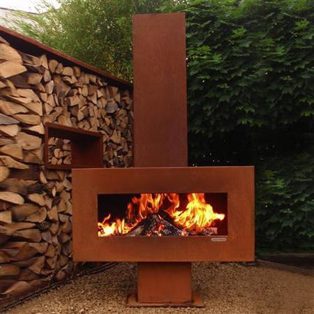Zeno Retta Solitair Fireplace