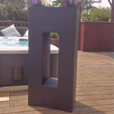 Grantham Planter in Black
