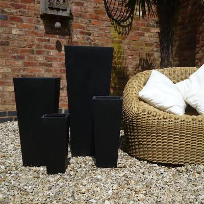 Foston Pot Set of 4 in Black