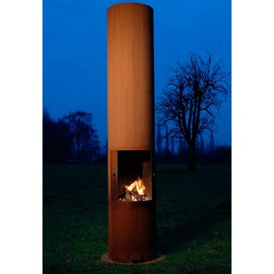 Zeno Tubo Outdoor Fireplace
